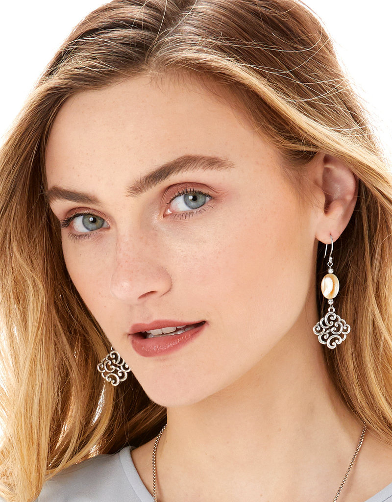 BRIGHTON JA6513 Barbados Nuvola Shell French Wire Earrings