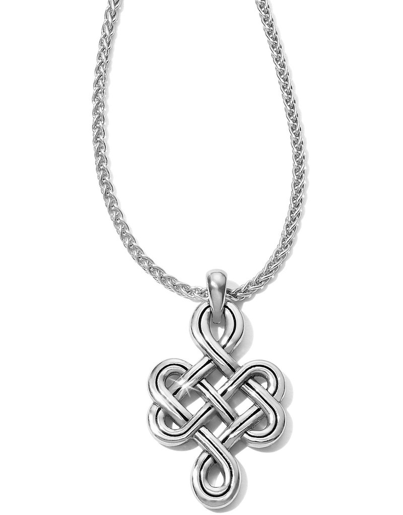 BRIGHTON JM1770 Interlok Endless Knot Petite Necklace