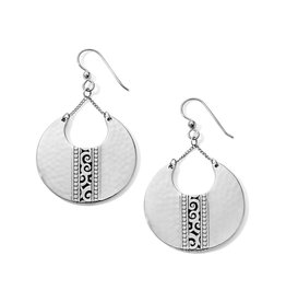 PROMO JA6250 Mingle Disc Large French Wire Earrings