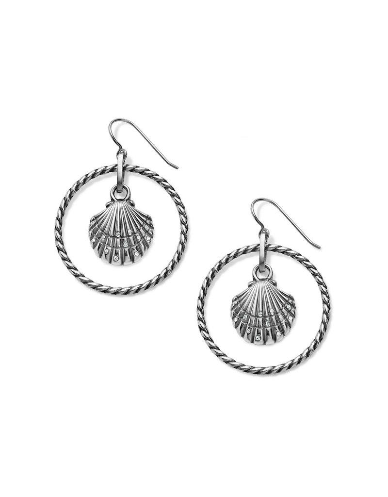 BRIGHTON JA6491 Sea Shore Shell French Wire Earrings