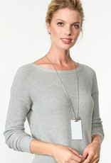 BRIGHTON JN9732 Alcazar Heart Badge Clip Necklace
