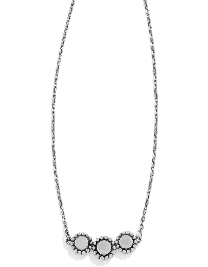 BRIGHTON JL8641 TWINKLE TRIPLE STONE NECKLACE