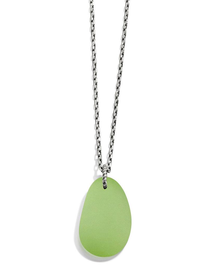BRIGHTON JM2623 Sea Shore Shell Glass Necklace