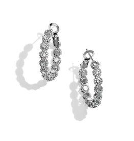 BRIGHTON JA5351 Twinkle Splendor Small Hoop Earrings