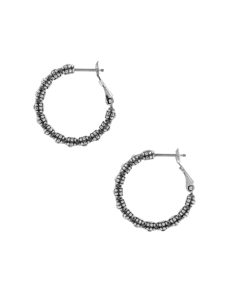 BRIGHTON JA5351 Twinkle Splendor Small Hoop Earrings
