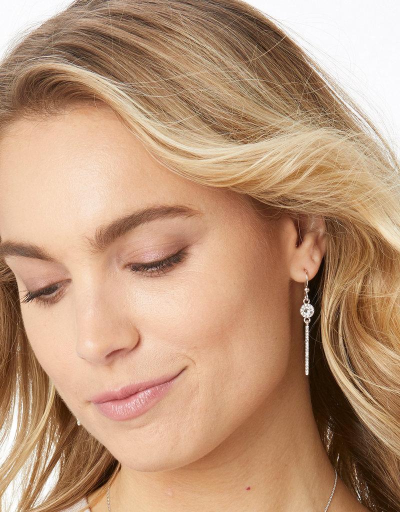 BRIGHTON JA4961 Illumina Slim French Wire Earrings