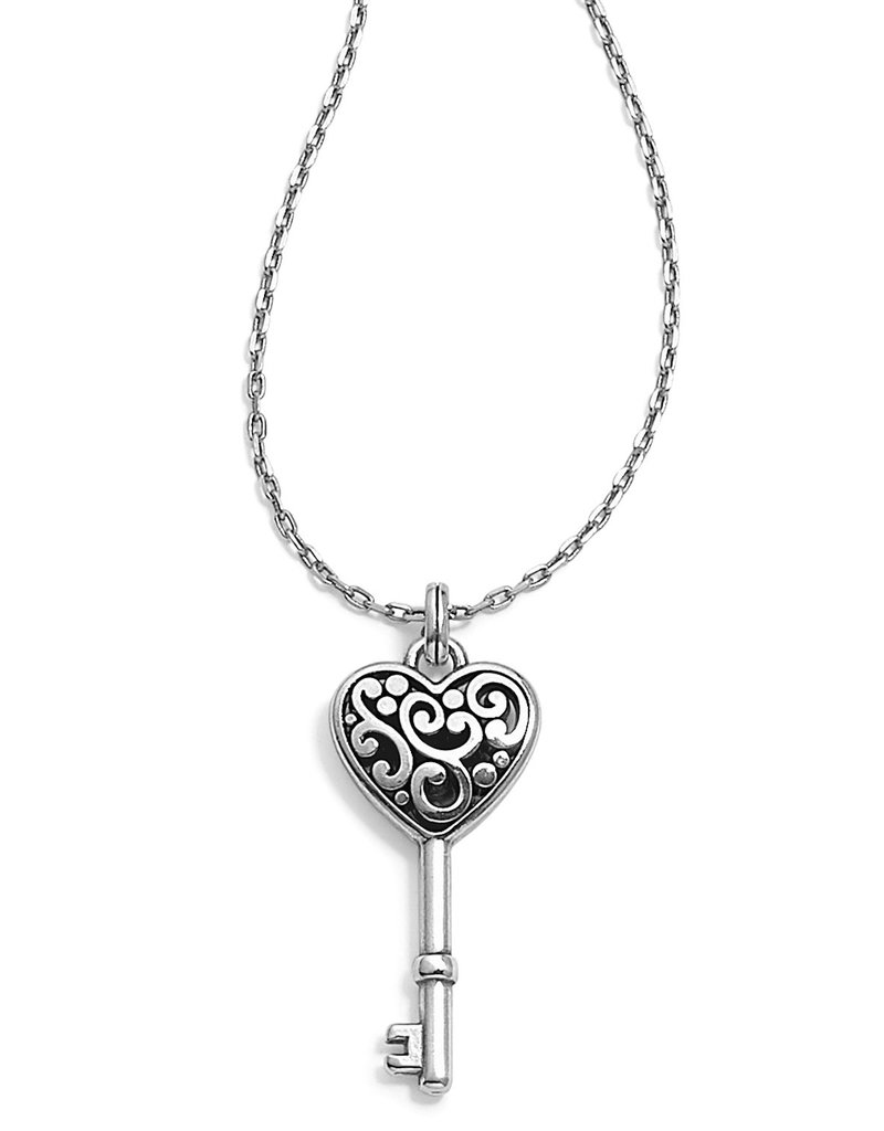 BRIGHTON JM0630 CONTEMPO HEART KEY NECKLACE