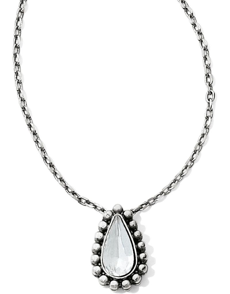 BRIGHTON JM0991 Twinkle Teardrop Reversible Necklace