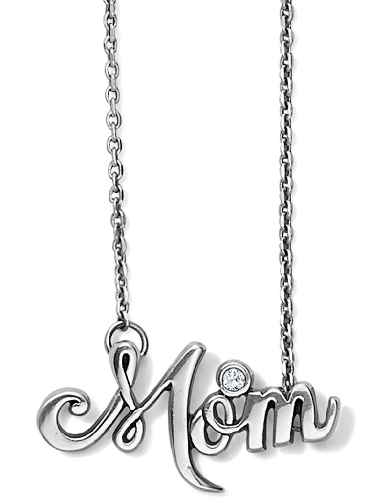 BRIGHTON JM2350 PENSCRIPT MOM NECKLACE