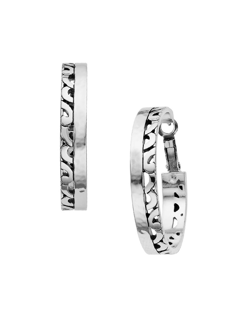 BRIGHTON JA6453 BARBADOS PARK HOOP EARRINGS