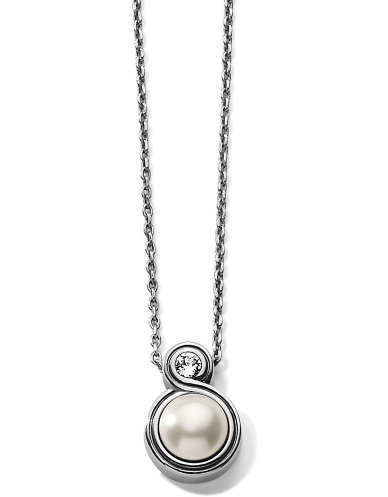 BRIGHTON JM2313 INFINITY SPARKLE PETITE NECKLACE