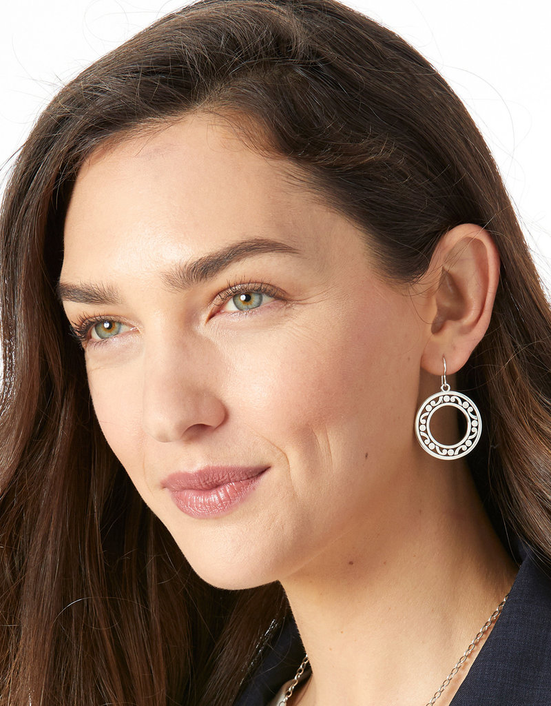 BRIGHTON JA5380 Contempo Open Ring French Wire Earrings