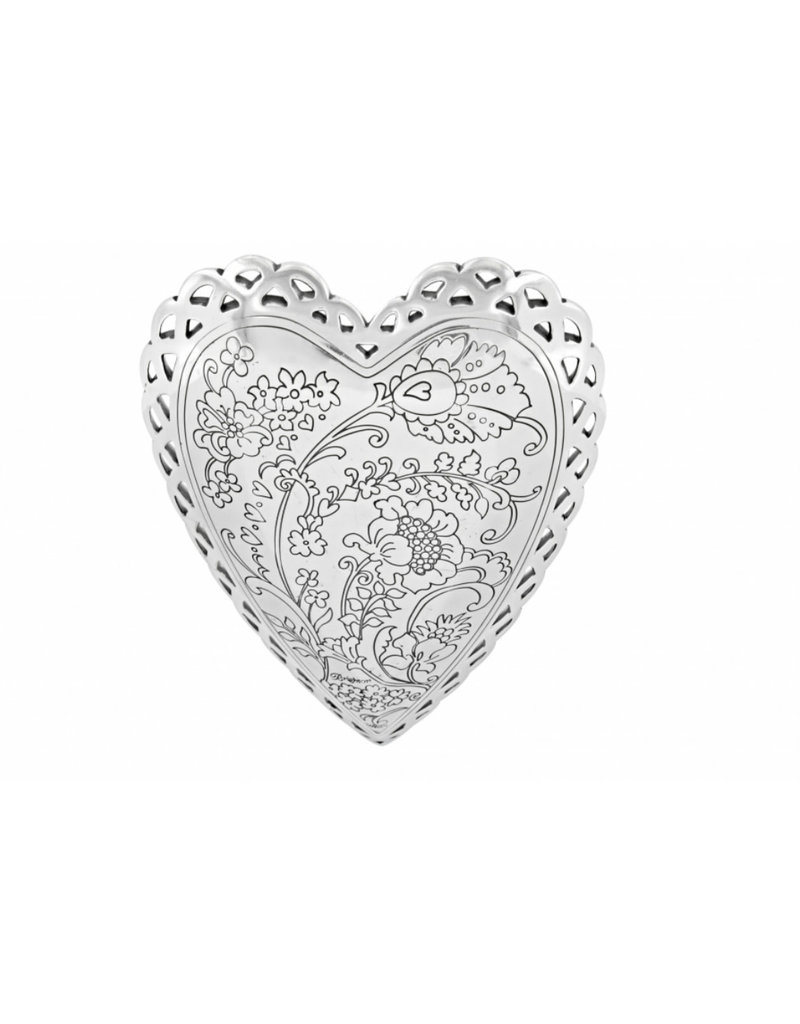 BRIGHTON G50030 GARDEN HEART TRAY