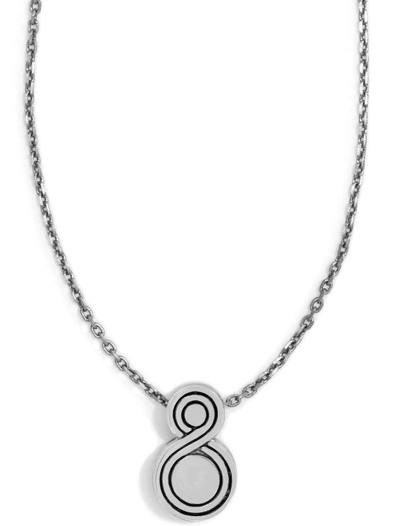 BRIGHTON JL6521 Infinity Sparkle Petite Necklace