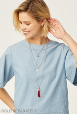 BRIGHTON JL8270 Vivi Delicate Short Charm Necklace