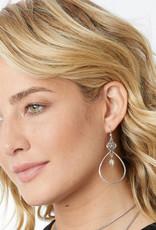 BRIGHTON JA4950 Interlok Knot Loop French Wire Earrings