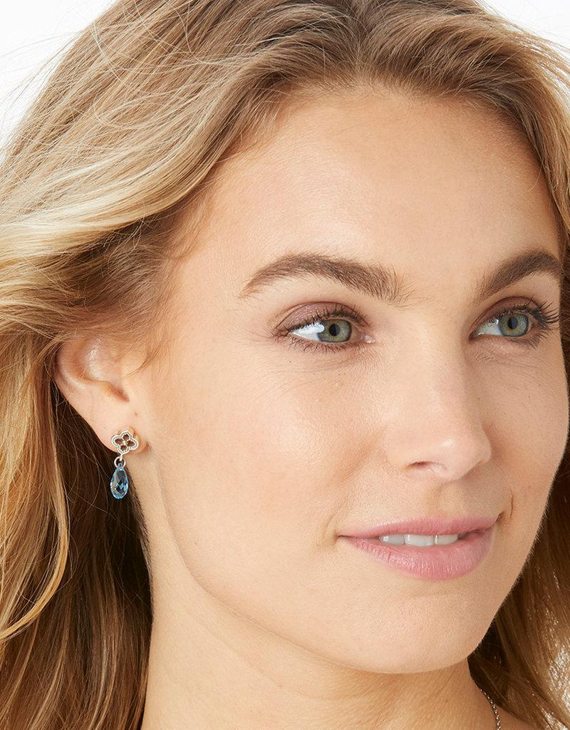 BRIGHTON JA525B Toledo Alto Briolette Post Drop Earrings