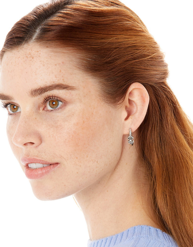 BRIGHTON JA6330 Alcazar Medley Post Hoop Earrings