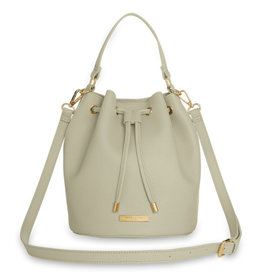 KATIE LOXTON KLB852 CHLOE BUCKET BAG | WARM GREY | 26 X 22 X 22CM