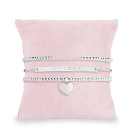 "KATIE LOXTON *KLJ3526 OCCASION GIFT BOX | MOM IN A MILLION | Bracelets | 2x 6 3/4"" stretch