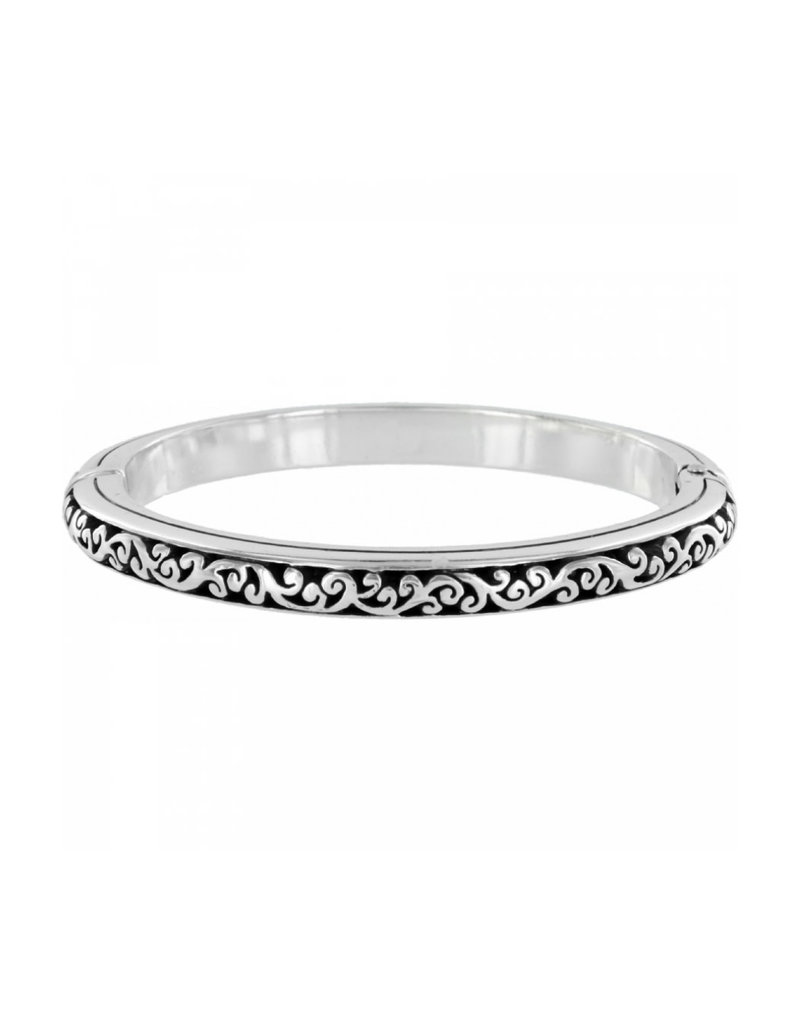 BRIGHTON J38882 SACRED CROSS HINGED BANGLE