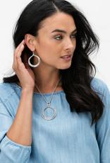 BRIGHTON JA2530 Interlok Circle French Wire Earrings
