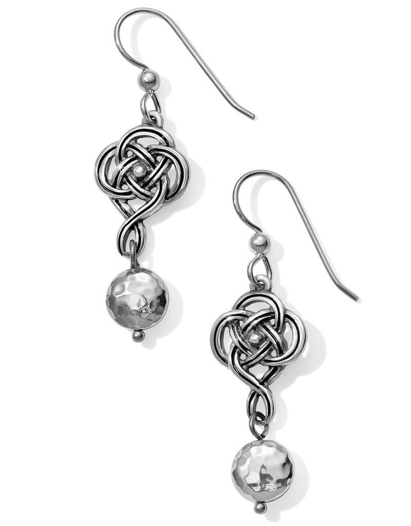 BRIGHTON JA4680 Interlok Knot French Wire Earrings