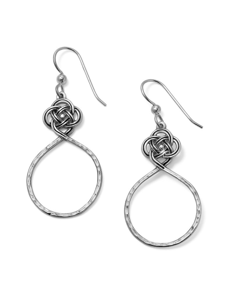 BRIGHTON JA4920 Interlok Petite Knot Circle French Wire Earrings