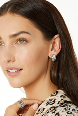 BRIGHTON JA5830 Interlok Woven Hoop Earrings