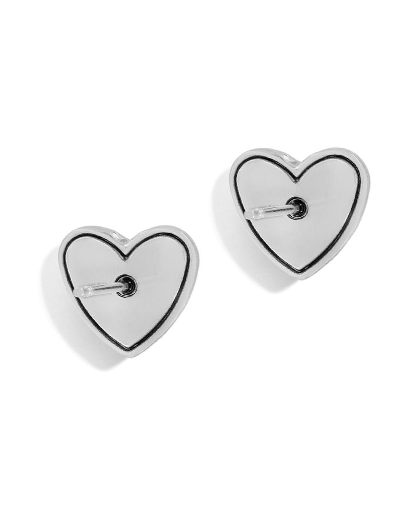 BRIGHTON JA6311 STELLAR HEART POST EARRINGS