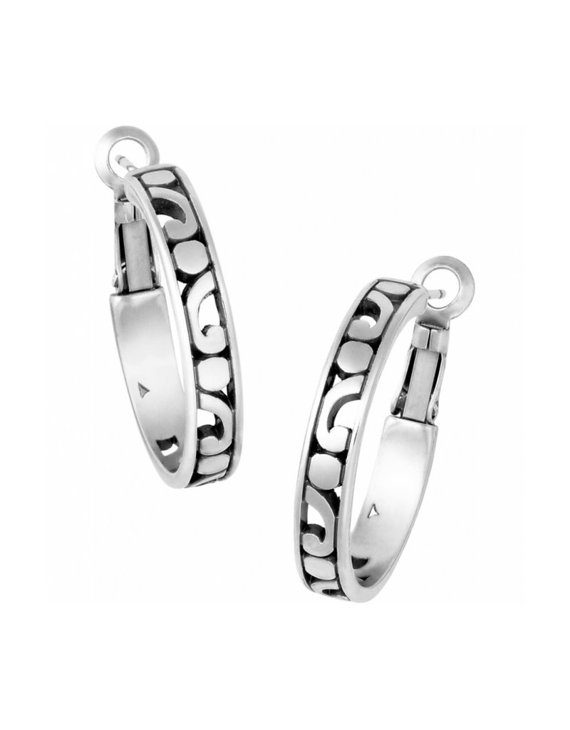 BRIGHTON JE9710 CONTEMPO SMALL HOOP EARRINGS