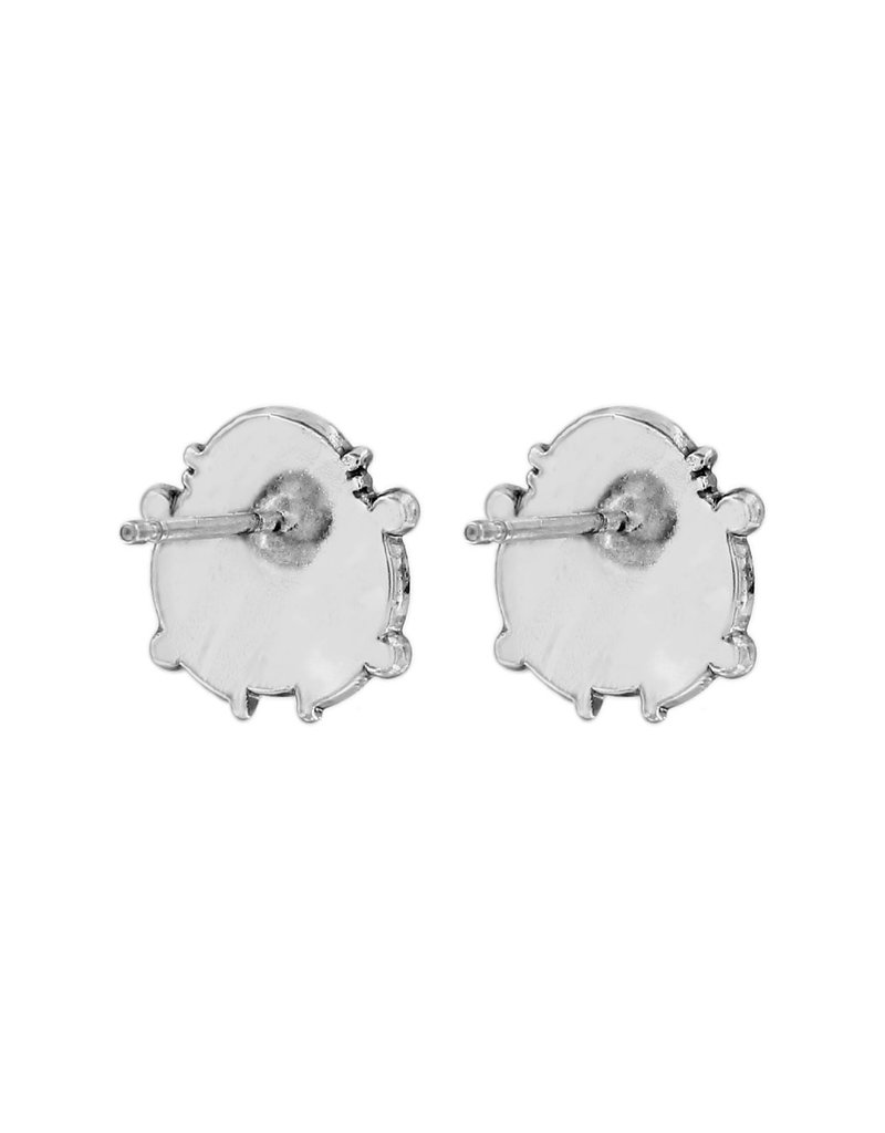 BRIGHTON J22301 LADY LUCK MINI POST EARRINGS