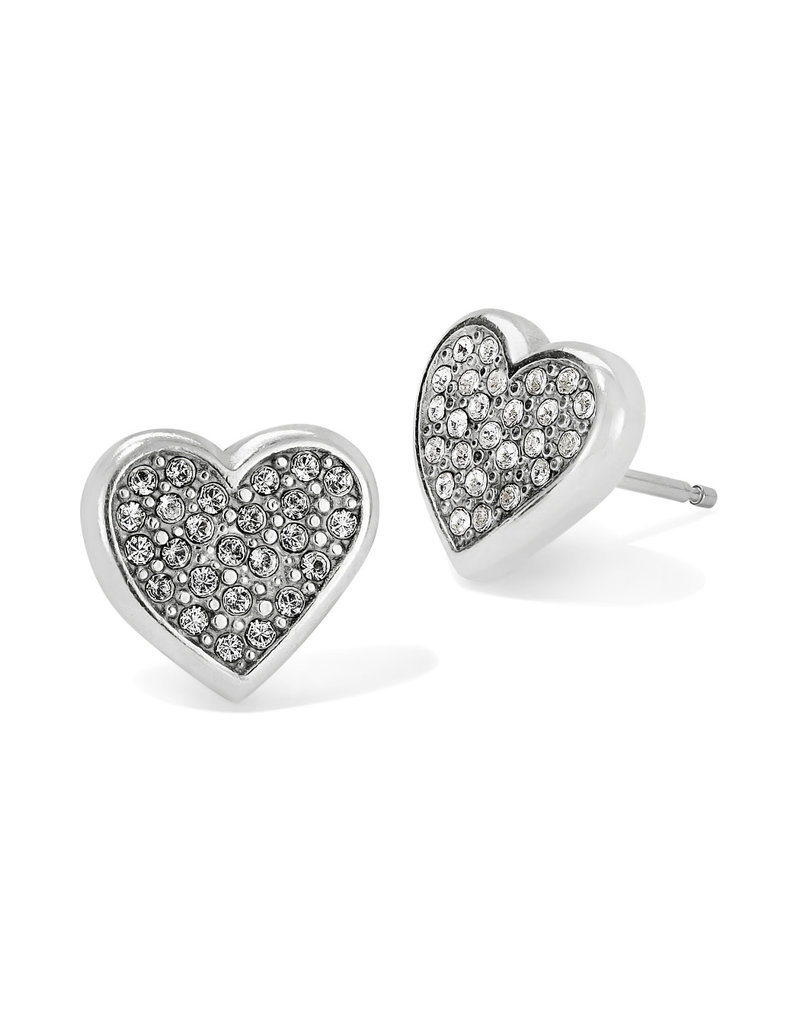 BRIGHTON J22321 EDEN HEARTS MINI POST EARRINGS