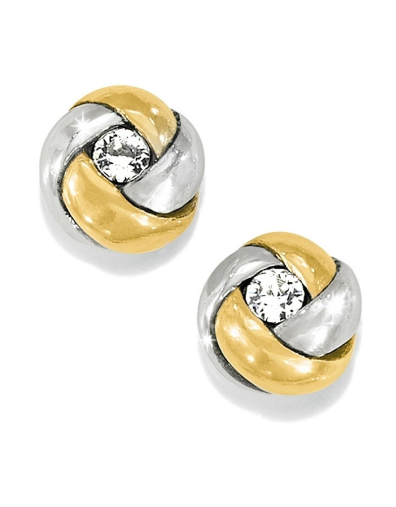 BRIGHTON J21533 LOVE ME KNOT MINI POST EARRINGS