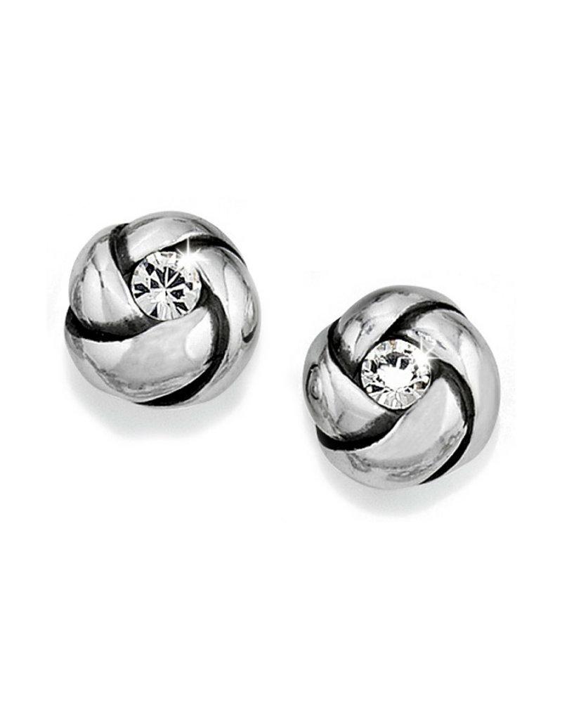 BRIGHTON J21532 Love Me Knot Mini Post Earrings