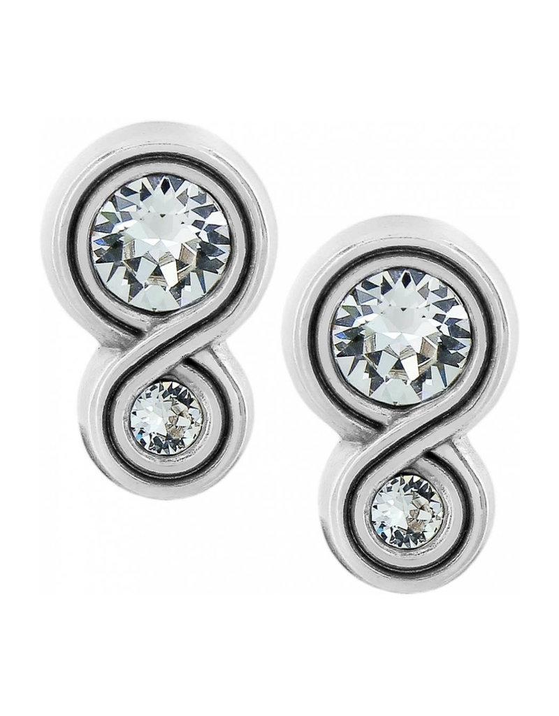 BRIGHTON JA1222 Infinity Sparkle Post Earrings