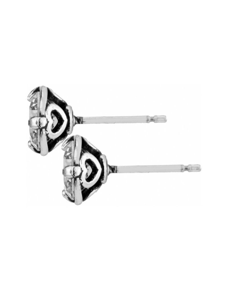 BRIGHTON JE154A BRILLIANCE 7MM POST EARRINGS