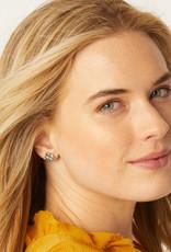 BRIGHTON J22130 Clover Heart Mini Post Earrings