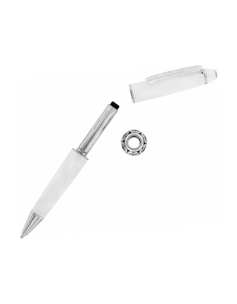 BRIGHTON J9820W Pen Pal Short Charm Pen