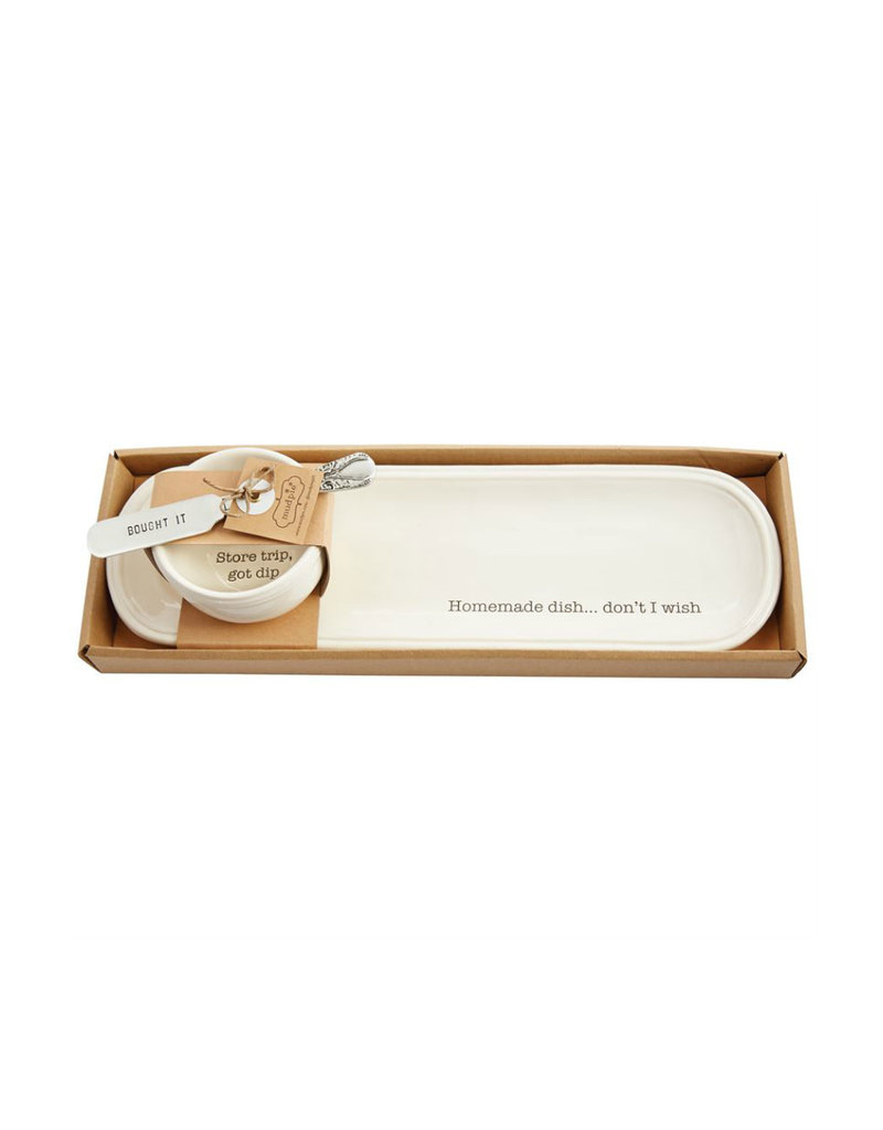 MUD PIE 40700178 STORE BOUGHT TRAY SET