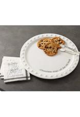 MUD PIE 40700207 COOKIE PLATE SERVING SET