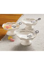 MUD PIE 41320005 SCALLOP CANDY DISH SETS