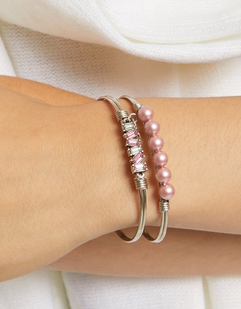 LUCA AND DANNI STC787 Mini Hudson Bangle Bracelet in Pink Ombre_brass tone_regular