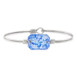 LUCA AND DANNI STC860S FORGET ME NOT FLOWERS BRACELET SILVER TONE REGULAR