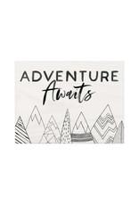 BHB0355 Adventure Awaits - 7.25X5.5