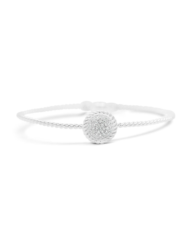 STIA Power Of Attraction Magnet Bracelet - Rope Pave Disk