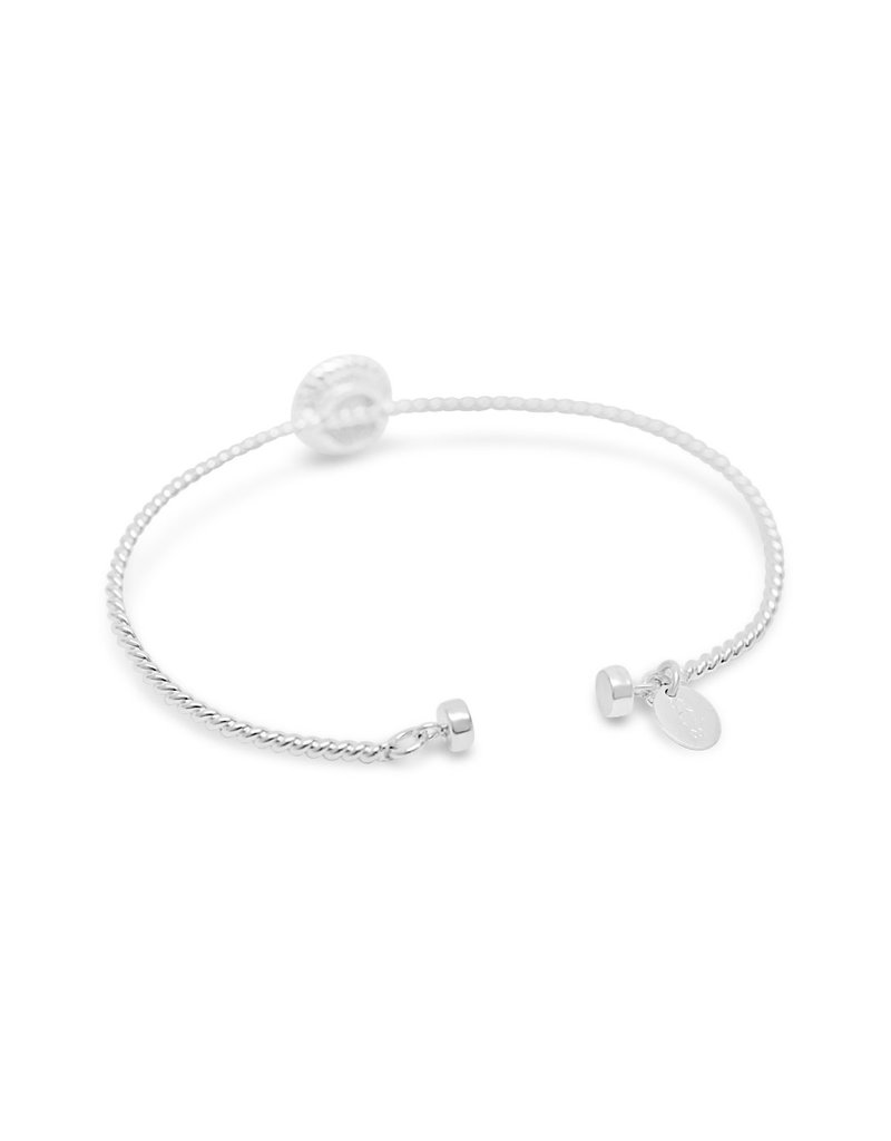 STIA Power Of Attraction Magnet Bracelet - Double Pave Bar