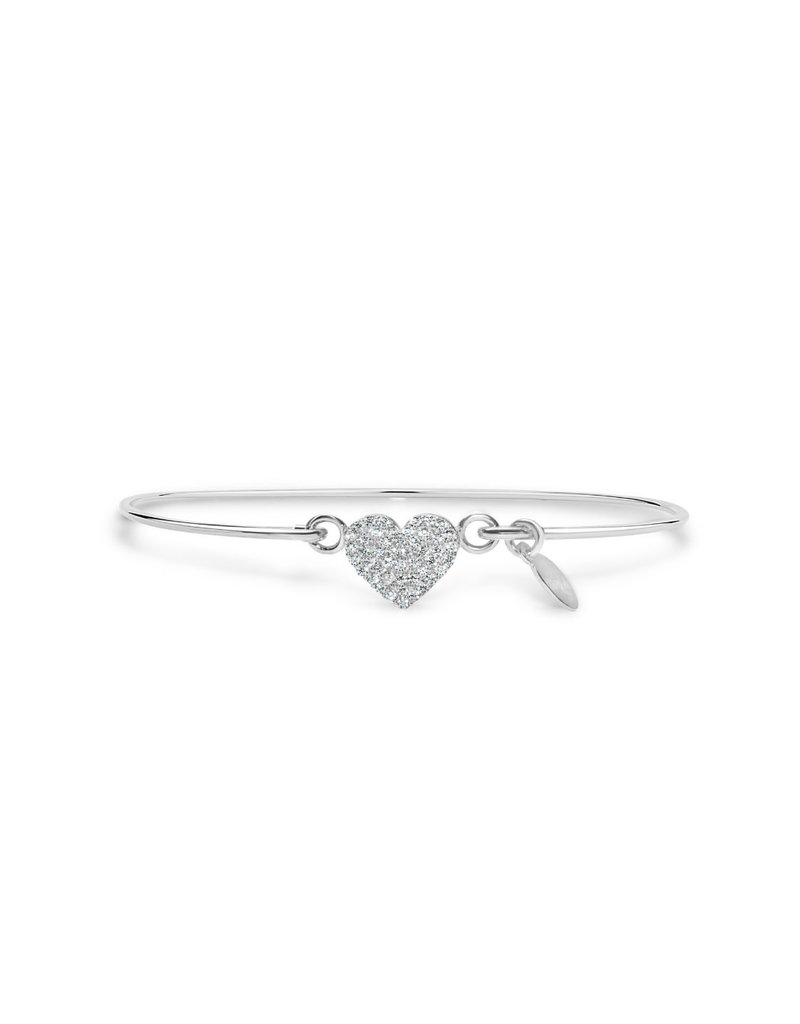 STIA 002-SS-130 Pavé Icon Bracelet Heart