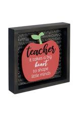 20151-01 TEACHER APPLE 6X6 SIGN