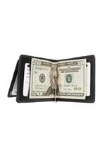 7916 MONEY CLIP MEN'S WALLET WITH EXTERIOR FLIP